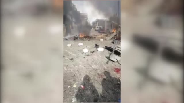 At least 60 people were killed Saturday by a car bomb attack in Aleppo province's oppositionheld Azaz district in northwestern Syria An...