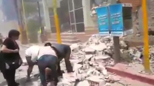 at least 64 people were killed in morelos state directly south of mexico city after a massive 71 magnitude quake rocked mexico killing nearly 140... - earthquake stock videos and b-roll footage