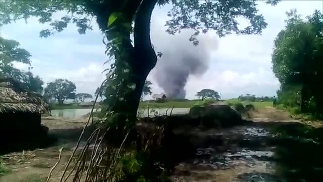 At least 71 people are killed as Rohingya militants besiege border posts in northern Rakhine State