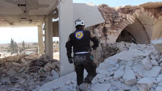 at least 79 civilians have been killed within the last 48 hours as a result of ongoing airstrikes in syria's deir ezzour a local activist said friday... - civilian stock videos & royalty-free footage