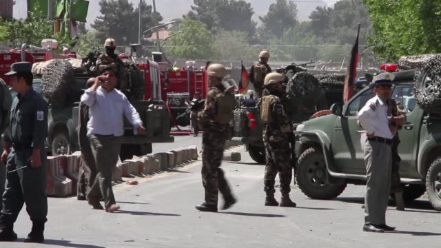 stockvideo's en b-roll-footage met at least 80 people are killed in a massive blast which ripped through the diplomatic quarter of the afghan capital kabul the health ministry says... - quarter