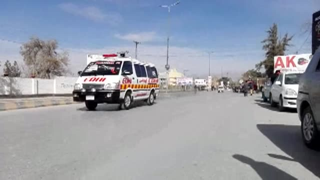 At least five people were killed and 15 wounded after two suicide attackers stormed a church in the restive southwestern Pakistani city of Quetta...