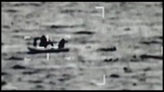 at least one irregular migrant died and another 10 were rescued after a boat sank off the coast of bodrum in turkey's aegean province of mugla coast... - mugla province stock videos & royalty-free footage