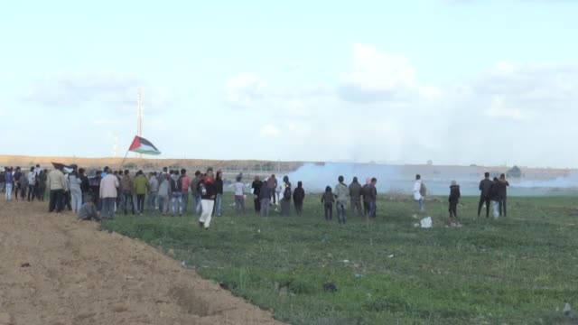 at least one palestinian youth was killed friday -- and another 40 people were injured -- while taking part in ongoing demonstrations along the... - historical palestine stock videos & royalty-free footage