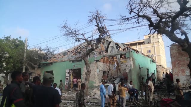 At least six people were killed and more than 21 wounded when a car bomb exploded on the busiest street in Somalia's capital Thursday according to...