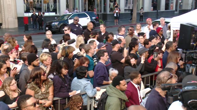 atmosphere at ll cool j honored with star on the hollywood walk of fame at hollywood walk of fame on january 21 2016 in hollywood california - ll cool j stock videos and b-roll footage
