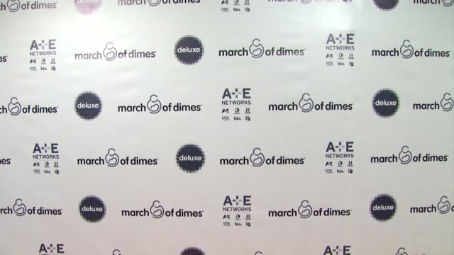 stockvideo's en b-roll-footage met signage at march of dimes celebration of babies luncheon honoring jennifer lopez in los angeles ca on 12/06/13 - jennifer lopez