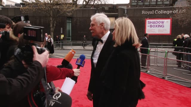 at mikhail gorbachev's 80th birthday ted turner at royal albert hall on march 30 2011 in london england - ted turner businessman stock videos & royalty-free footage