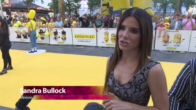 CHYRON at 'Minions' World Premiere at Odeon Leicester Square on June 11 2015 in London England