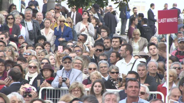 ATMOSPHERE at 'Money Monster' Red Carpet on May 12 2016 in Cannes France