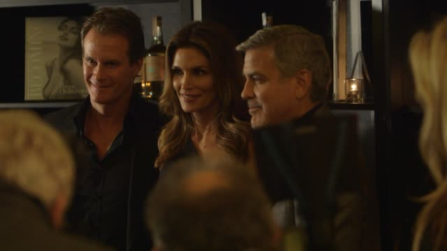 clean at official london launch of casamigos tequila and cindy crawford's new book 'becoming' rande gerber george clooney and michael meldman host... - george clooney stock videos & royalty-free footage
