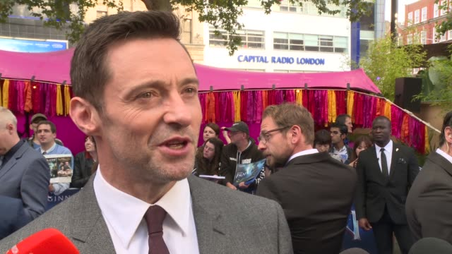 clean at 'pan' uk film premiere at odeon leicester square on september 20 2015 in london england - event capsule stock videos & royalty-free footage