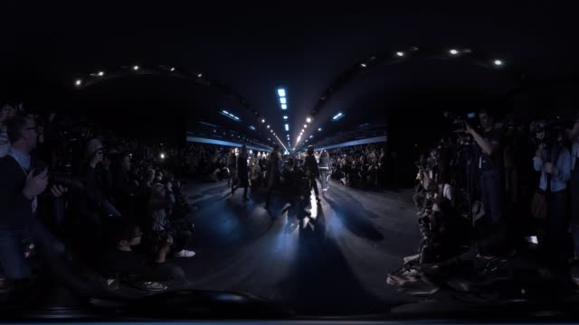 stockvideo's en b-roll-footage met runway at paris fashion week christian dior a/w17 on march 03 2017 in paris france - week