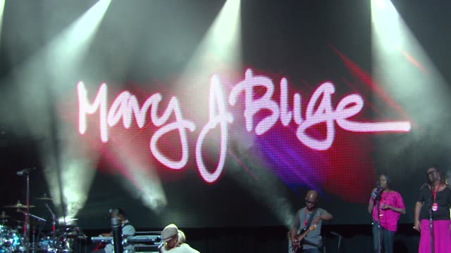 atmosphere at red special edition party with exclusive performance by mary j blige on 2/10/2012 in hollywood ca - performing arts event stock videos and b-roll footage