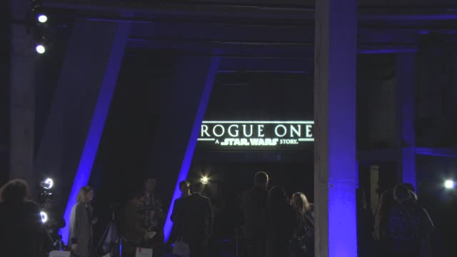 ATMOSPHERE at 'Rogue One A Star Wars Story' Launch Event at Tate Modern on December 13 2016 in London England