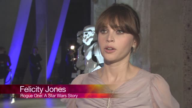 CHYRON at 'Rogue One A Star Wars Story' Premiere at Tate Modern on December 13 2016 in London England