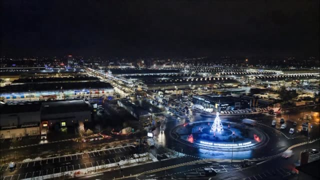 At Rungis market on the outskirts of Paris the runup to Christmas is a crucial period as thousands work through the night to make sure the French...