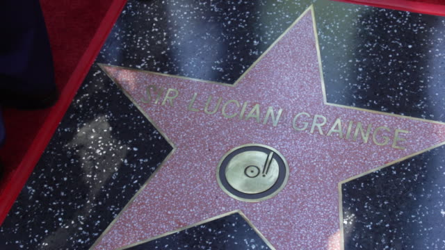 CA: Sir Lucian Grainge Honored With A Star On The Hollywood Walk Of Fame