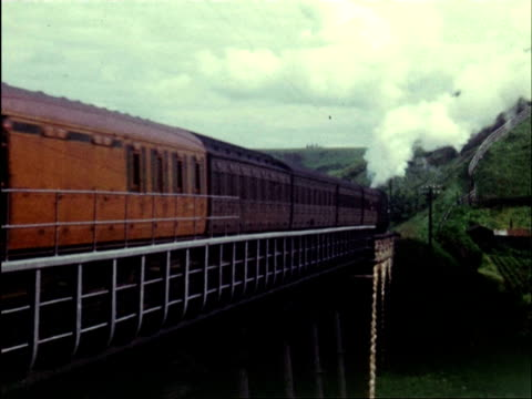 ms at small stations and journeying cross country / isle of man, england - isle of man stock videos & royalty-free footage