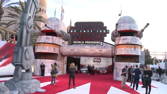 the last jedi in los angeles ca - star wars stock videos & royalty-free footage