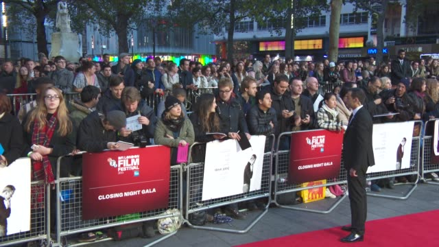 atmosphere at 'steve jobs' closing night gala bfi london film festival at odeon leicester square on october 18 2015 in london england - odeon leicester square stock videos and b-roll footage