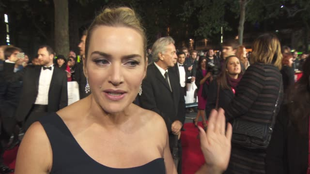 chyron at 'steve jobs' closing night gala bfi london film festival at odeon leicester square on october 18 2015 in london england - event capsule stock videos & royalty-free footage