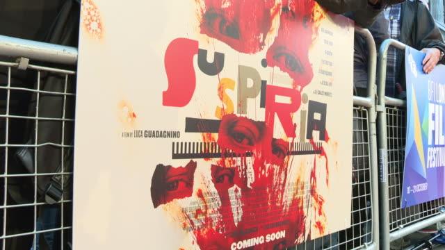 GBR: 'Suspiria' UK Premiere - 62nd BFI London Film Festival