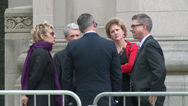 at temple emanu-el on september 07, 2014 in new york city. - kathie lee gifford stock videos & royalty-free footage