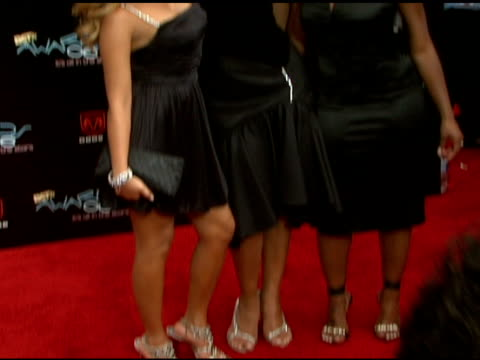 3lw at the 2006 bet awards arrivals at the shrine auditorium in los angeles california on june 27 2006 - black entertainment television stock videos & royalty-free footage