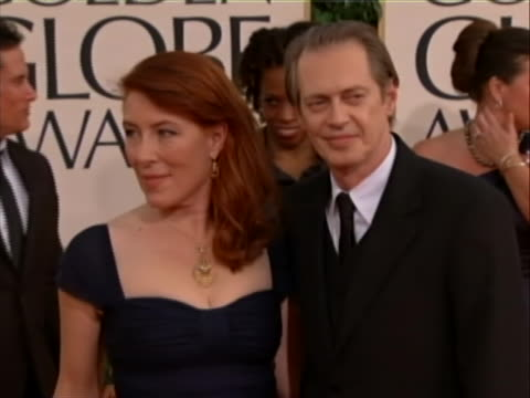 at the 2011 golden globes he is an associate member of the renowned experimental theater company the wooster group, buscemi has starred in successful... - steve buscemi stock videos & royalty-free footage