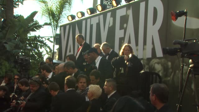 at the 2011 vanity fair oscar party arrivals at hollywood ca. - vanity fair oscar party stock videos & royalty-free footage