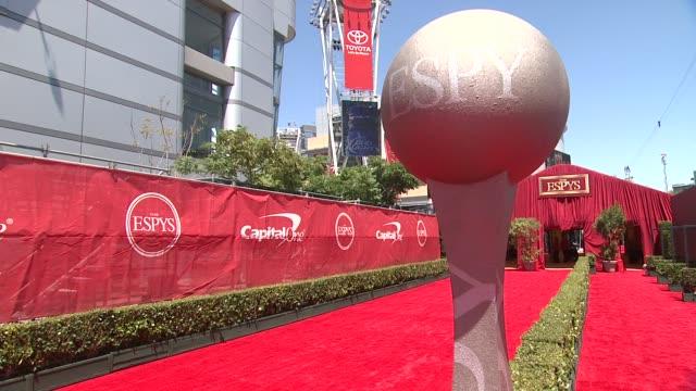 atmosphere at the 2014 espy awards in los angeles ca - espy awards stock videos & royalty-free footage