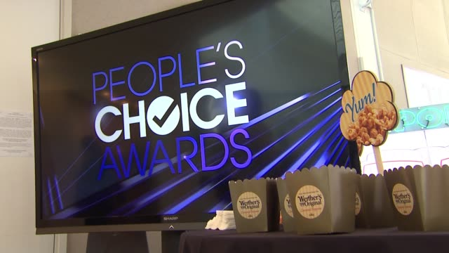 atmosphere at the 2017 people's choice awards nominations announcement at the paley center for media on november 15 2016 in beverly hills california - people's choice awards stock videos & royalty-free footage