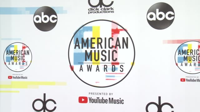 atmosphere at the 2018 american music awards at microsoft theater on october 09 2018 in los angeles california - american music awards stock videos & royalty-free footage