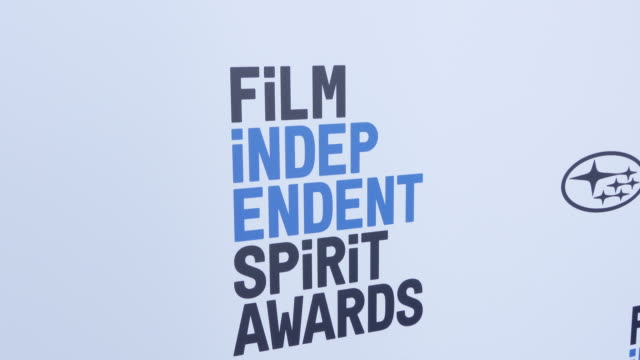 at the 2019 film independent spirit awards on february 23, 2019 in santa monica, california. - atmosphere stock videos & royalty-free footage