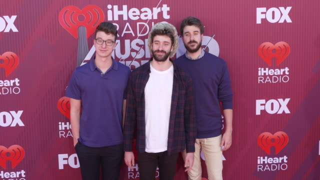 AJR at the 2019 iHeartRadio Music Awards at Microsoft Theater on March 14 2019 in Los Angeles California
