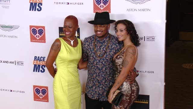 neyo at the 22nd annual race to erase ms in los angeles ca - race to erase ms stock videos and b-roll footage