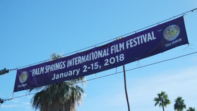 ATMOSPHERE at the 29th Annual Palm Springs International Film Festival Awards Gala at Palm Springs Convention Center on January 02 2018 in Palm...