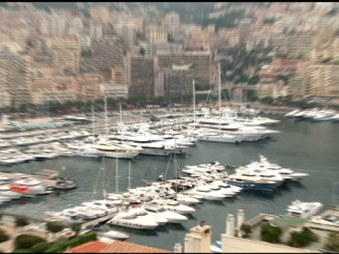 atmosphere at the 50th monte carlo tv festival atmosphere at monaco - monte carlo stock-videos und b-roll-filmmaterial