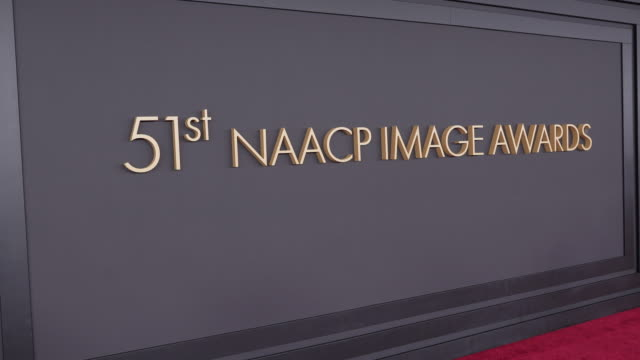 at the 51st naacp images awards on february 22, 2020 in pasadena, california. - naacp stock videos & royalty-free footage