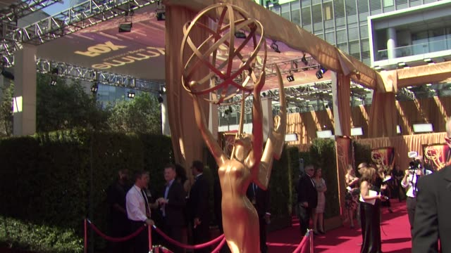atmosphere at the 63rd primetime emmy awards arrivals part 1 at los angeles ca - エミー賞点の映像素材/bロール