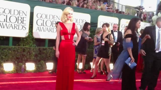 at the 68th Annual Golden Globe Awards Arrivals Timelapse at Beverly Hills CA