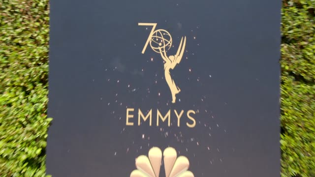 ATMOSPHERE at the 70th Emmy Awards Arrivals at Microsoft Theater on September 17 2018 in Los Angeles California