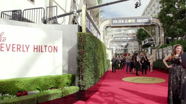 atmosphere at the 75th annual golden globe awards at the beverly hilton hotel on january 07 2018 in beverly hills california - atmosfär råmaterial bildbanksvideor och videomaterial från bakom kulisserna