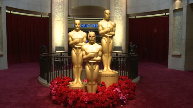 at the 87th annual academy awards - arrivals at dolby theatre on february 22, 2015 in hollywood, california. - the dolby theatre stock videos & royalty-free footage