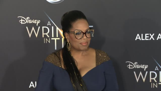 clean at the a wrinkle in time world premiere at the el capitan theatre on february 26 2018 in hollywood california - oprah winfrey stock videos & royalty-free footage