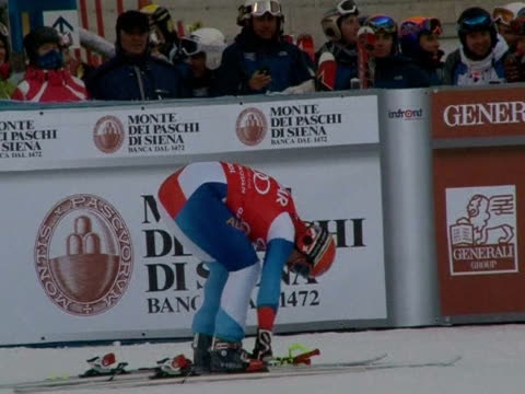 At the age of 35 Didier Cuche is already a veteran of downhill skiing Val Gardena Italy