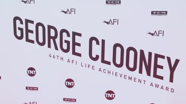 vídeos de stock, filmes e b-roll de atmosphere at the american film institute honors george clooney with 46th afi life achievement award at dolby theatre on june 07 2018 in hollywood... - american film institute