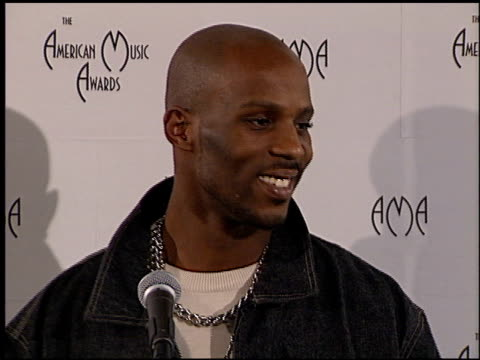 dmx at the american music awards 2000 at the shrine auditorium in los angeles california on january 17 2000 - american music awards stock videos & royalty-free footage