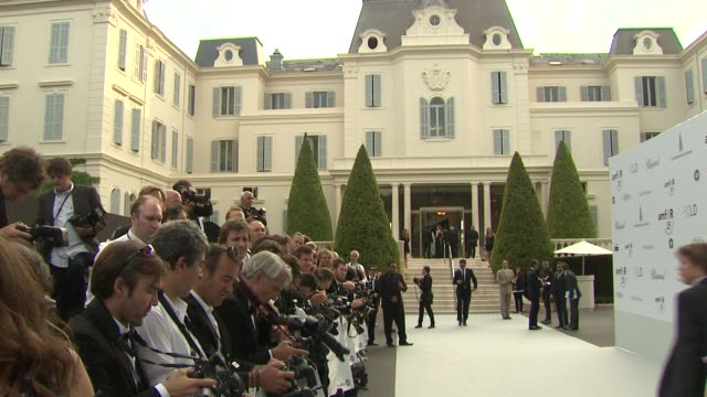 ATMOSPHERE at the amfAR Gala Red Carpet Arrivals 64th Cannes Film Festival at Antibes